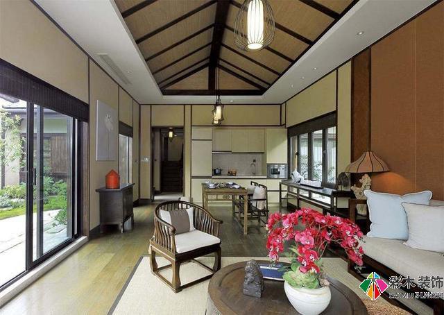 日式风格别墅装修设计要的就是这种禅意境界